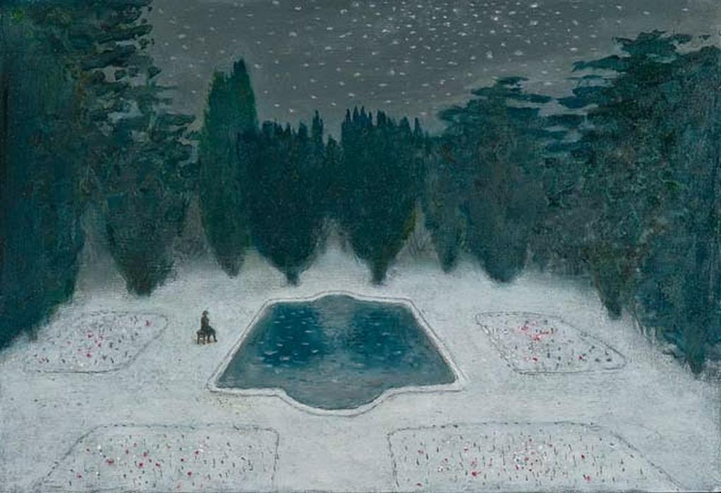 richard cartwright lily pond in winter jm london.jpg