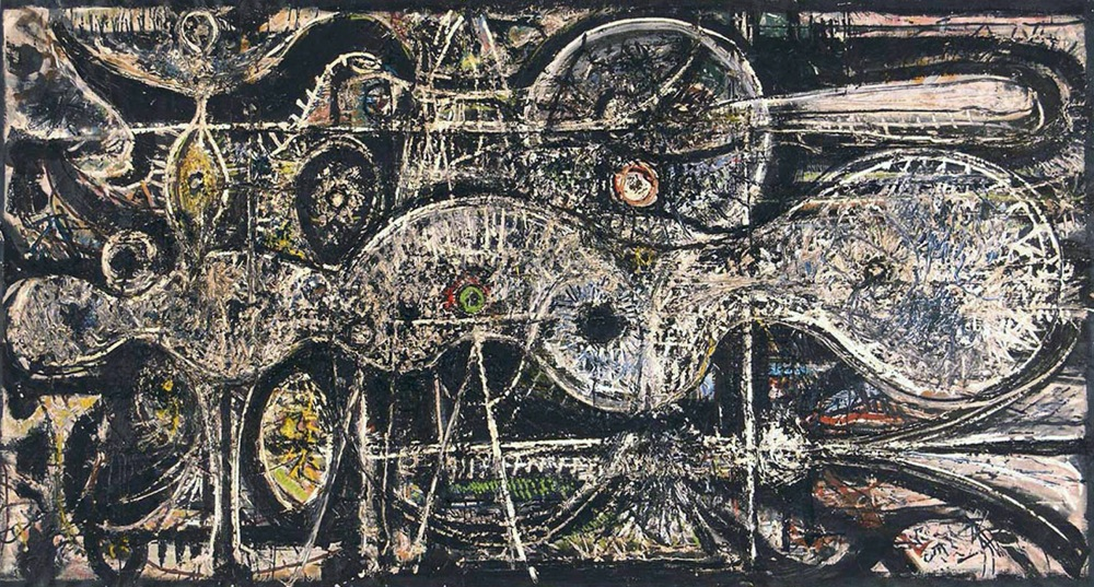 Richard Pousette-Dart ·undulation-1942.jpg