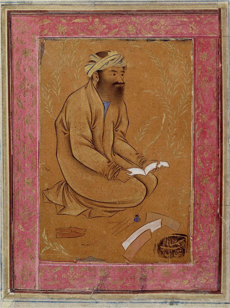 Riza._Calligrapher._ca._1600,_British_museum (1).jpg