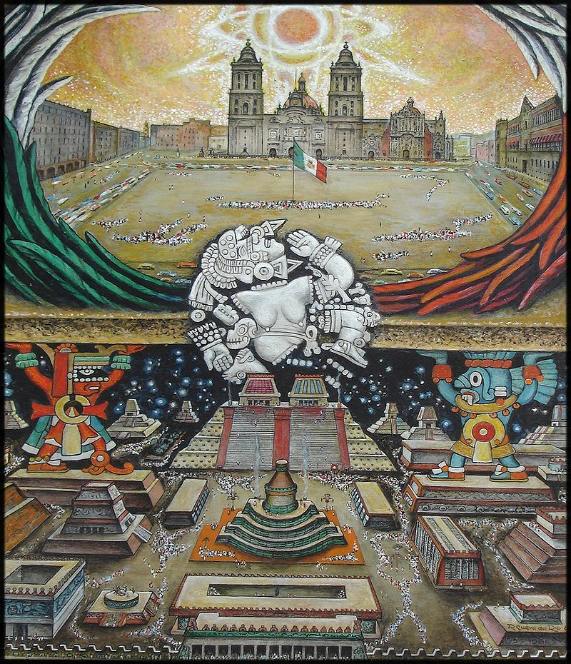 aztlan separating myth from history essay Bruce-novoa's focus in this essay is in affirming cabeza de vaca's relacion as a fundamental retorno a aztlan (mexico), and after separating from his.