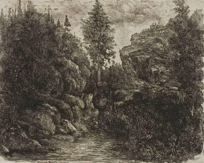Rodolphe Bresdin_Rocky Landscape.JPG