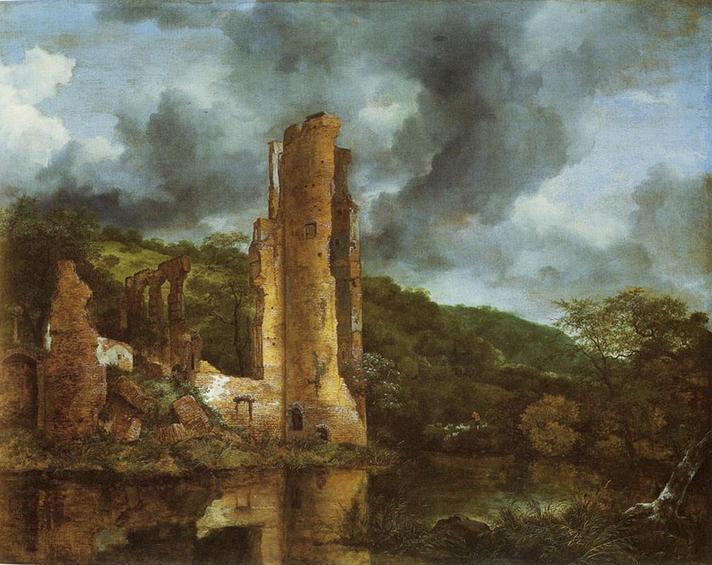Ruisdael Egmond Castle.jpg