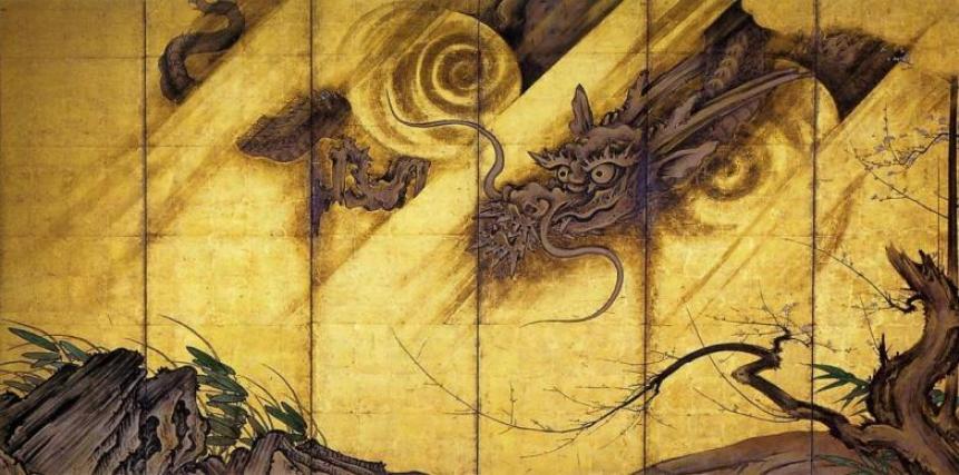 Ryūko-zu_Byōbu_by_Kanō_Sanraku(Part_of_the_dragon).jpeg