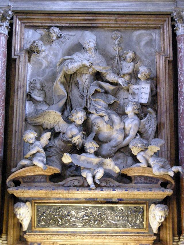 S.m._del_carmine,_int.,_cappella_corsini_in_gloria,_1677-83,_02.JPG