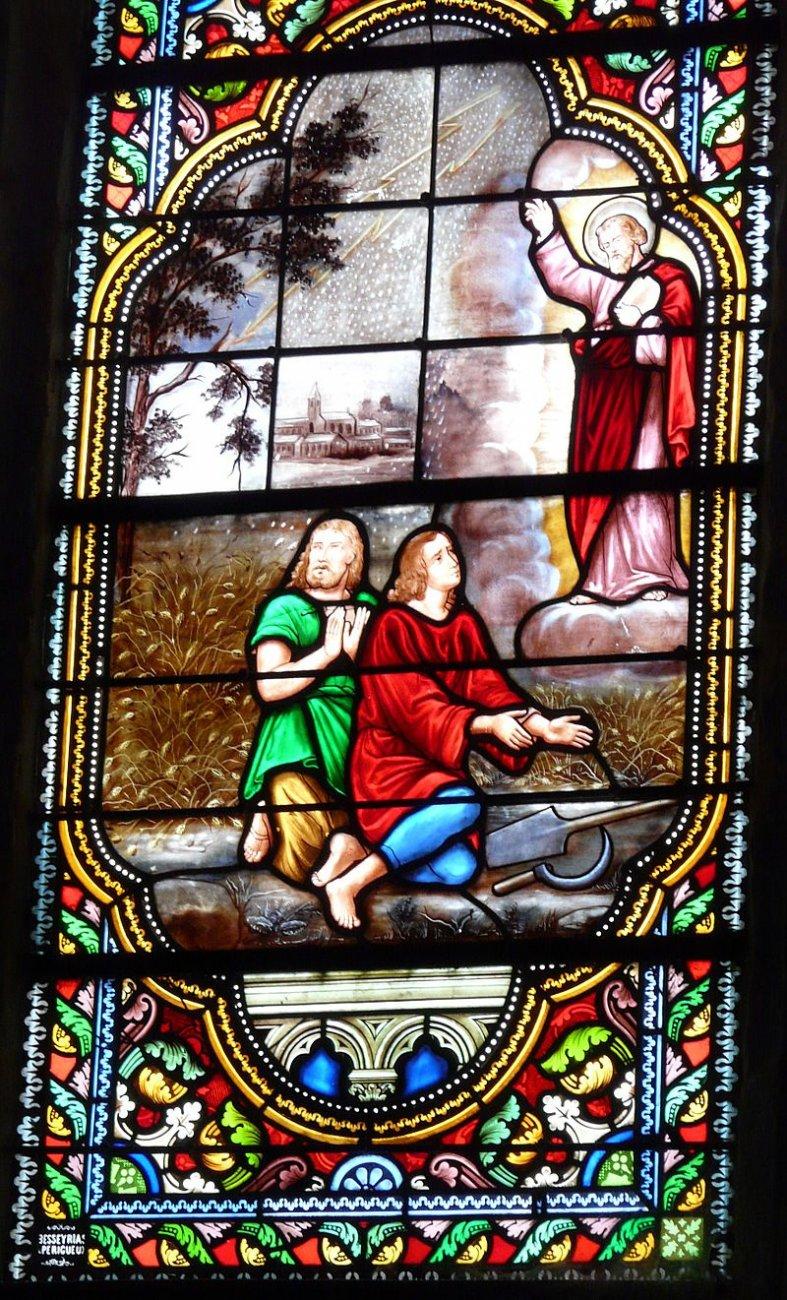 Saint-Léon-sur-l'Isle_église_vitrail_choeur_détail.JPG