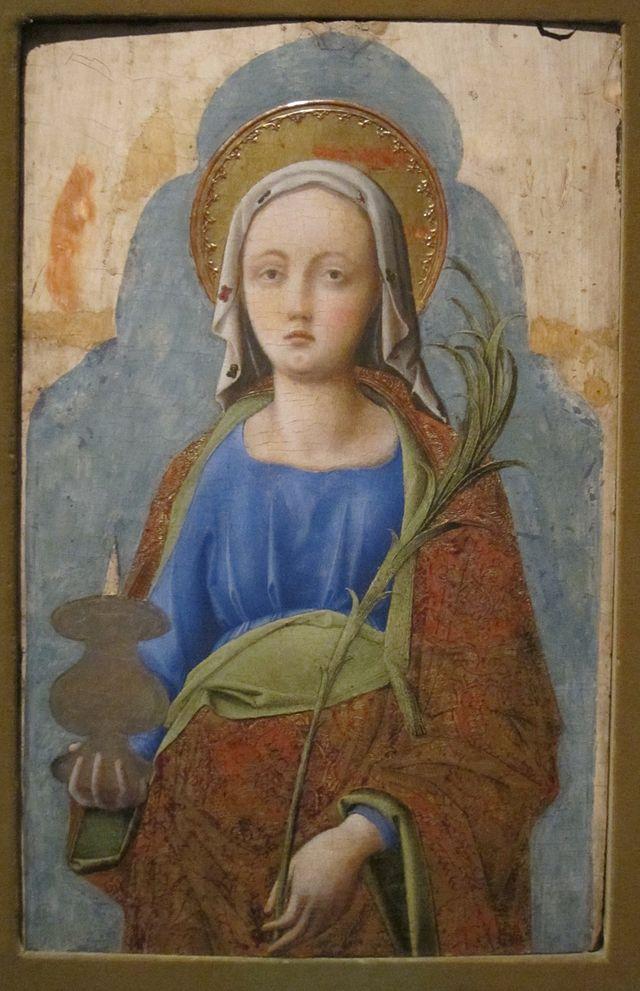 \'Saint_Lucy\'_by_Antonio_Vivarini_and_Bartolomeo_Vivarini,_Cincinnati.jpg