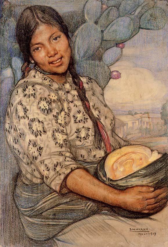 Saturnino_Herrán_-_Mujer_con_calabaza,_1917_(195).jpg