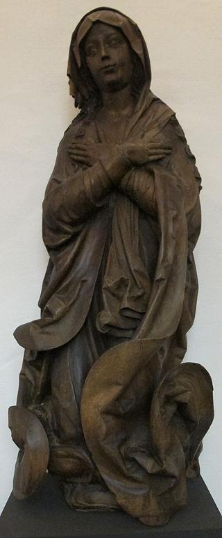 Scuola_di_veit_stoss,_maria_da_un_gruppo_dell\'incoronazione,_1520-25_ca.JPG