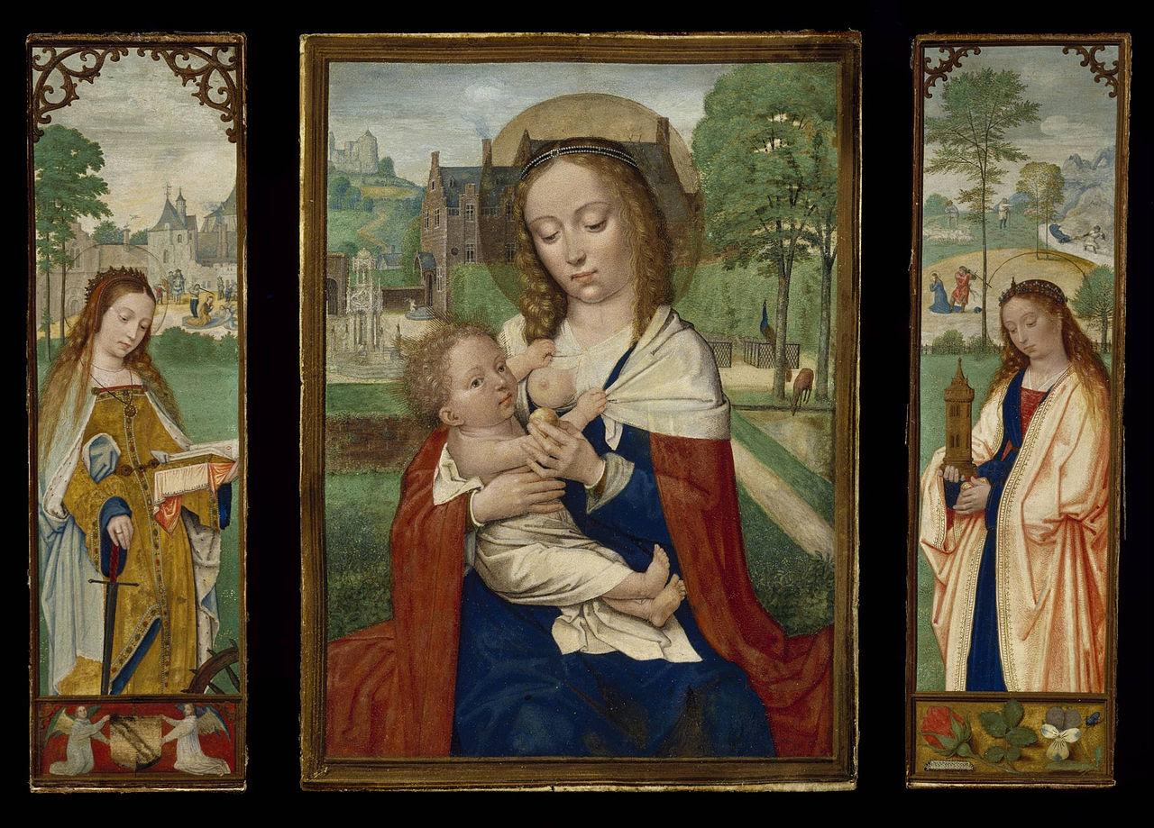 Simon_Bening_-_Virgin_and_Child;_Saints_Catherine_and_Barbara_-_Google_Art_Project.jpg