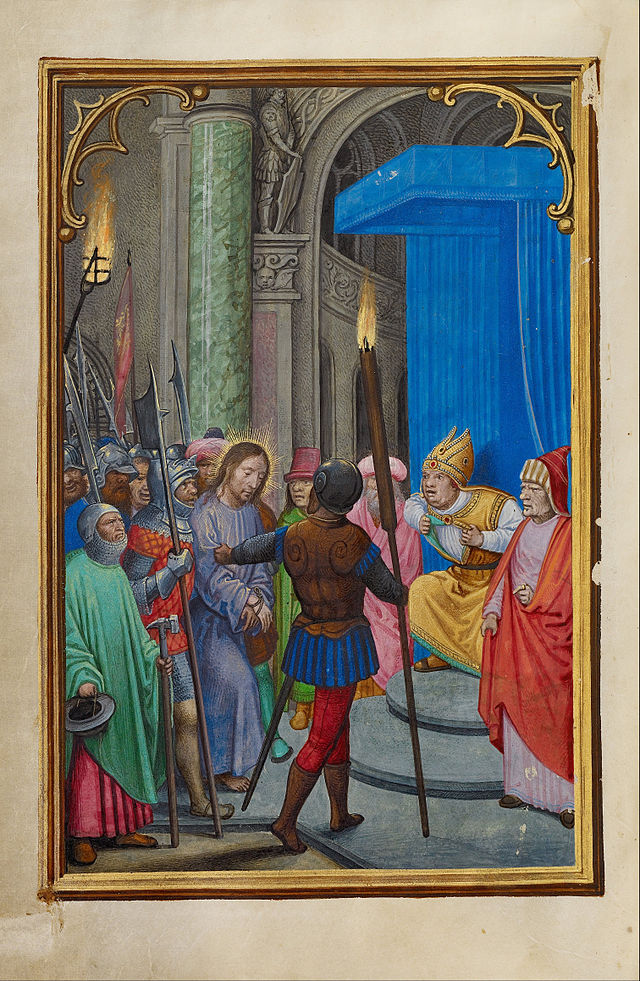 Simon_Bening_(Flemish_-_Christ_before_Caiaphas_-_Google_Art_Project.jpg