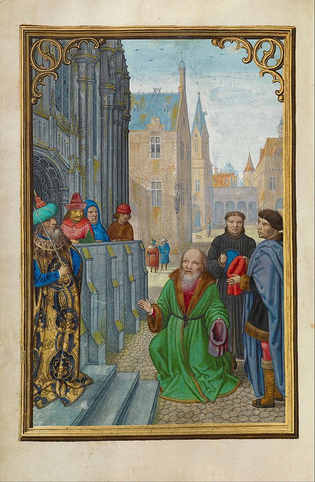 Simon_Bening_(Flemish_-_Joseph_of_Arimathea_Before_Pilate_-_Google_Art_Project.jpg