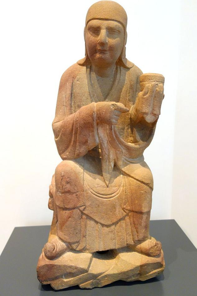 Six_luohans,_figure_2,_China,_Shanxi_Province,_Song_dynasty,_11th-13th_century.JPG