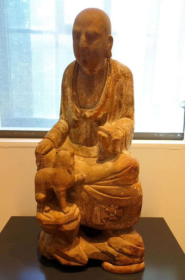 Six_luohans,_figure_3,_China,_Shanxi_Province,_Song_dynasty,_11th-13th_century,_.JPG
