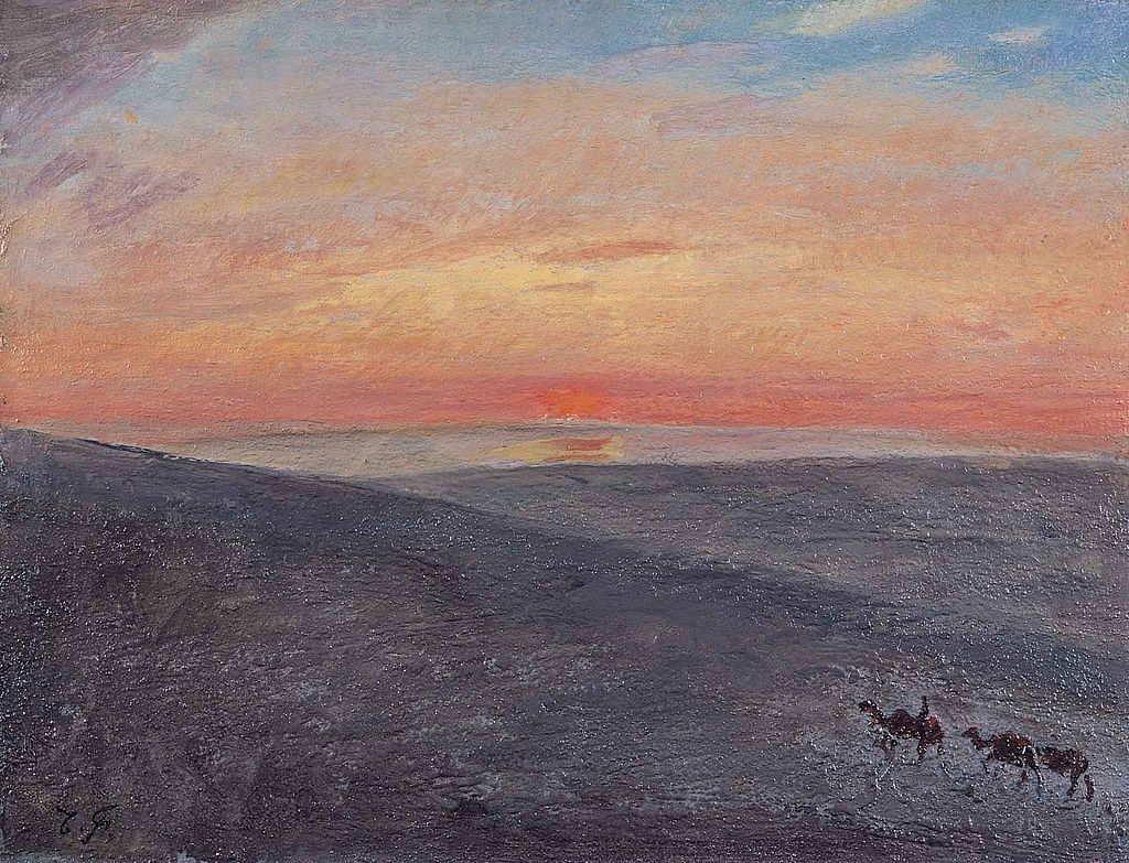 Sunrise_over_Mongolia_by_Fujishima_Takeji_(Ishibashi_Museum_of_Art).jpg