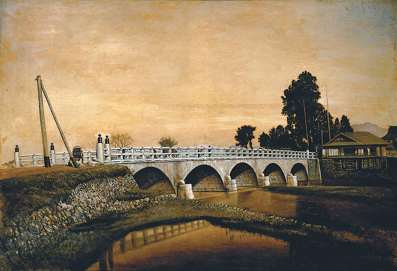 Takahashi_Yuichi_(Yūshūkan) 1828-90Tokiwa_Bridge_by_Takahashi_Yuichi_(Tokyo_National_Museum).jpg