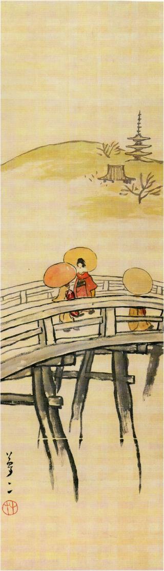 TakehisaYumeji-EarlyTaishō-GojōBridge.png