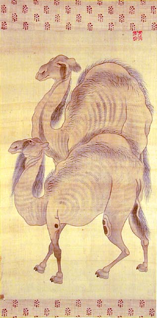 Tani_Buncho_Two_Camels.jpg