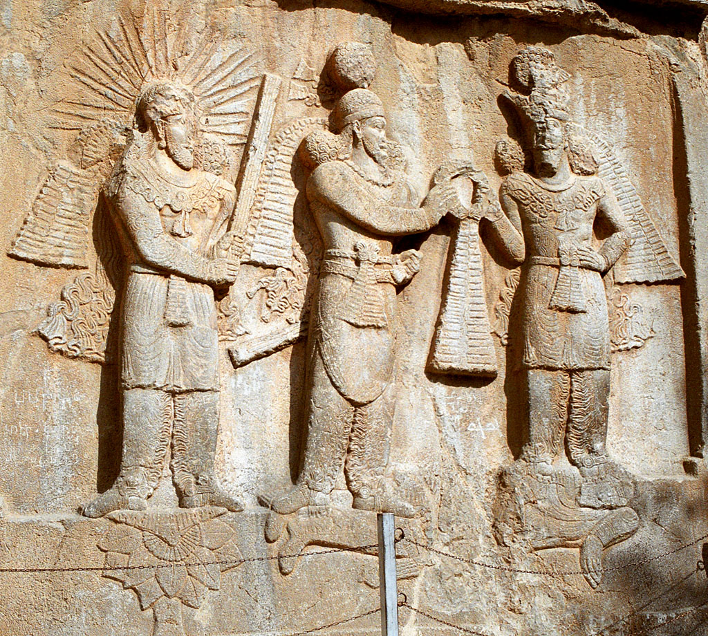 Taq-e_Bostan_-_High-relief_of_Ardeshir_II_investiture.jpg