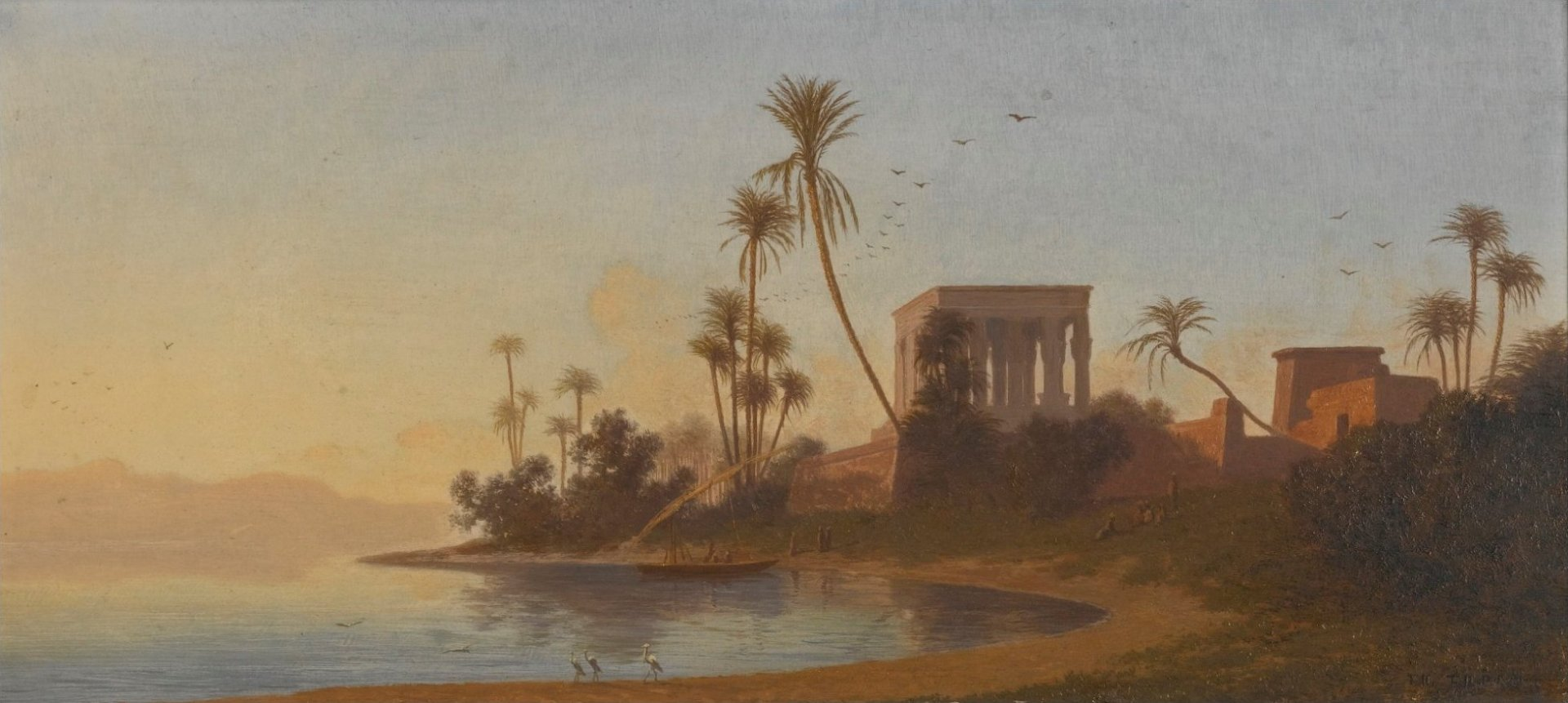 'Temple_of_Philae'_by_Charles-Théodore_Frère.jpg