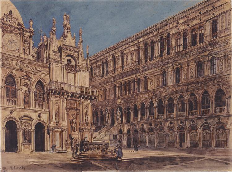 the-courtyard-of-the-doge-s-palace-in-venice-1867.jpg!Large.jpg