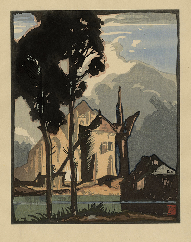 The-Mill-Dixmuden-in-collaboration-with-Frank-Brangwyn-by-Yoshijiro-Urushibara.jpg