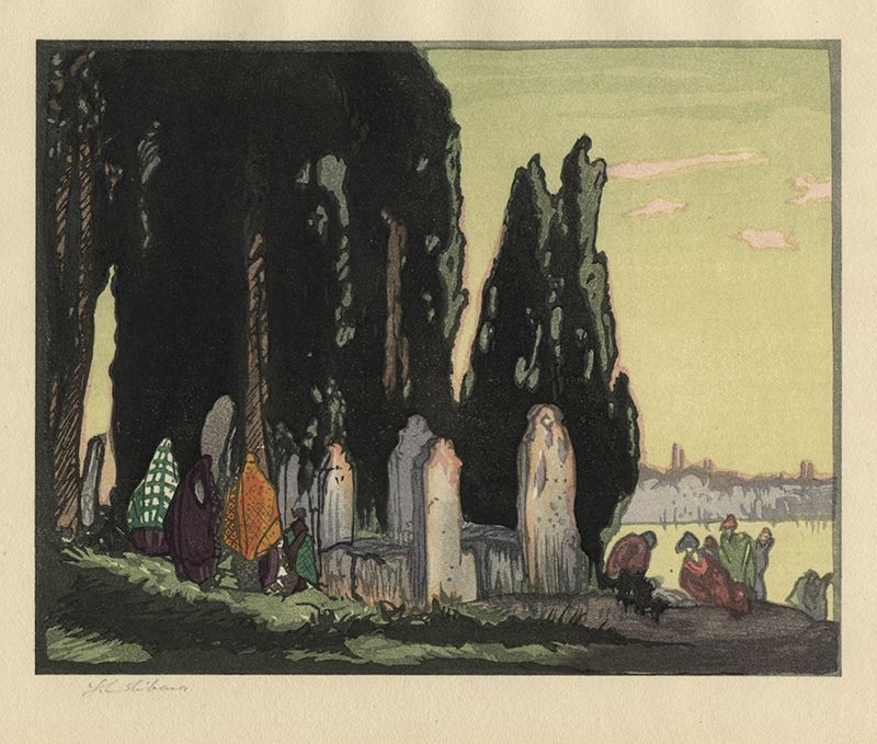 The-Resting-Place---Scutari-in-collaboration-with-Frank-Brangwyn-by-Yoshijiro-Urushibara.jpg