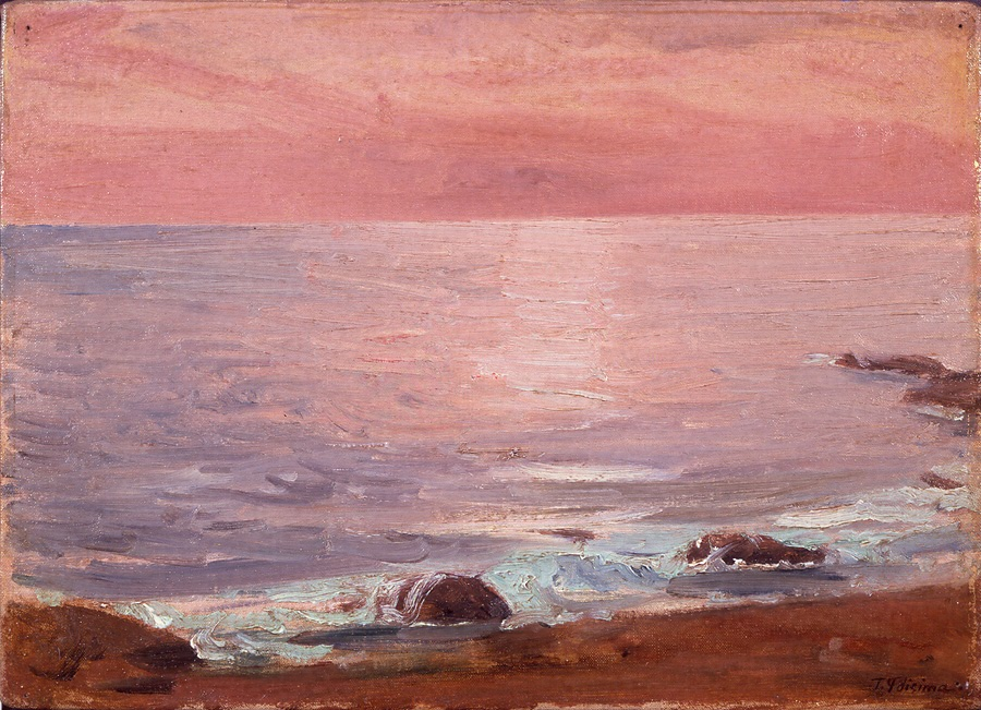 The_Sea,_at_Sunrise_by_Fujishima_Takeji_(Mie_Prectural_Art_Museum).jpg