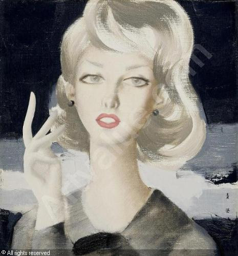 togo-seiji-1897-1978-japan-lady-1785475.jpg