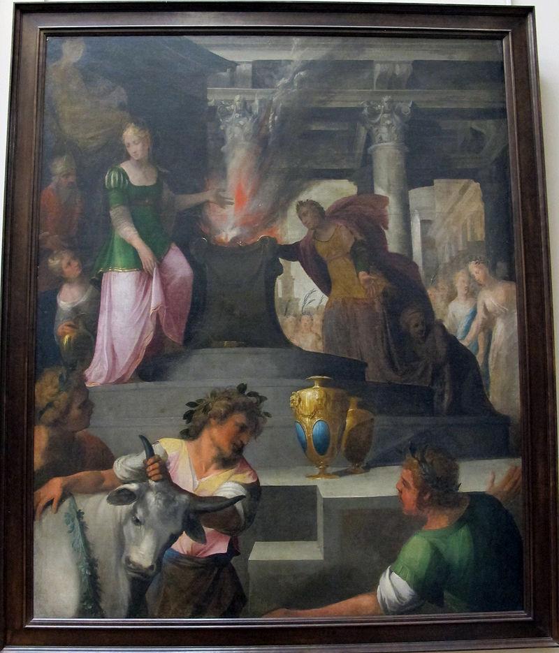 Toussaint_Dubreuil,_hyante_e_climeme_offrono_un_sacrificio_a_venere,_1594-1602_ca..JPG