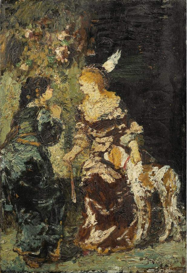 Two-Women-with-a-Dog-Adolphe-Monticellig.jpg