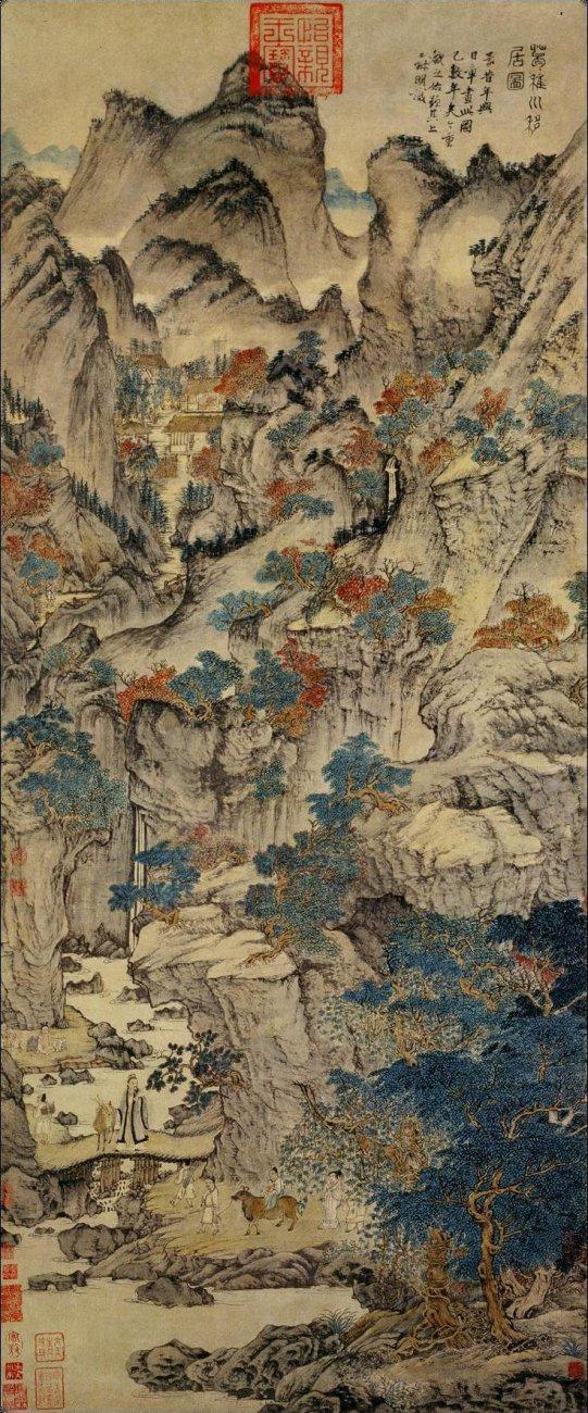 Wang_Meng._Ge_Zhichuan_Moving_his_Dwelling._ca._1360s_139x58cm_Palace_Museum_Beijing1.jpg