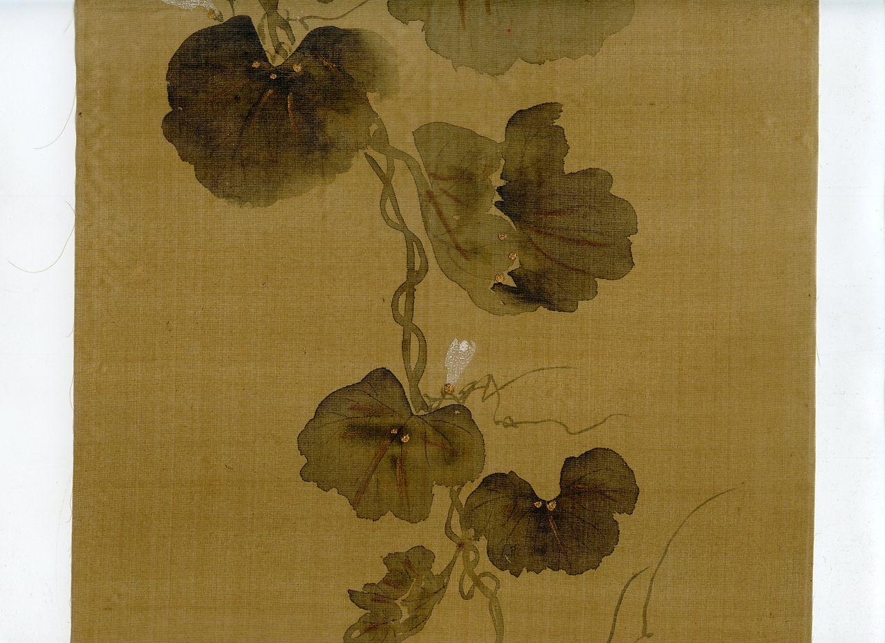-Wittig.collection.painting.02.flowering.gourd.vine.rinpa.school.s.jpg