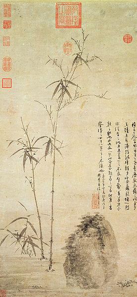Wu_Zhen._Stalks_of_Bamboo_by_a_Rock._906x425cm.1347._National_Palace_Museum_Taipei11.jpg