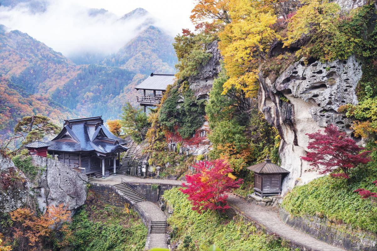 Yama-dera Temple (Risshaku-ji Temple)aflo_MOXA007953.jpg