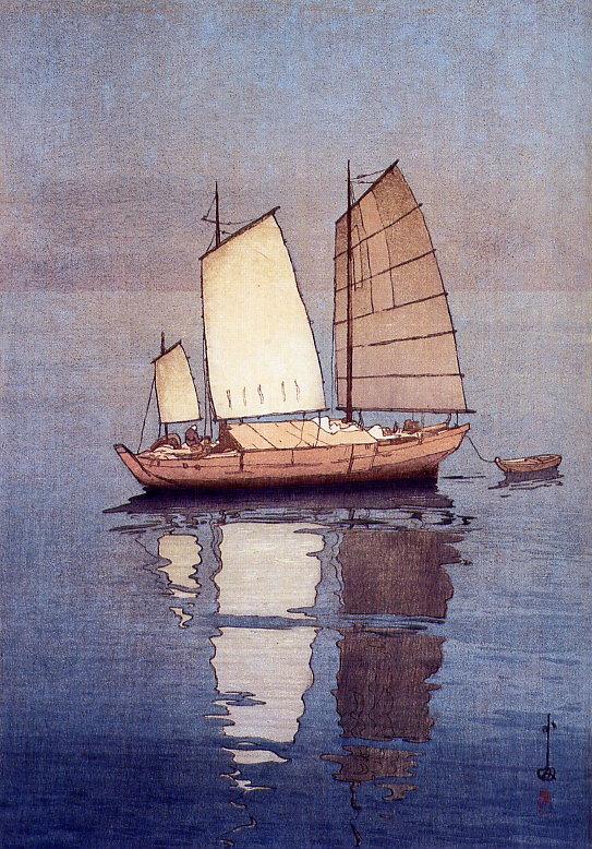 Yoshida_sailboat-evening.jpg