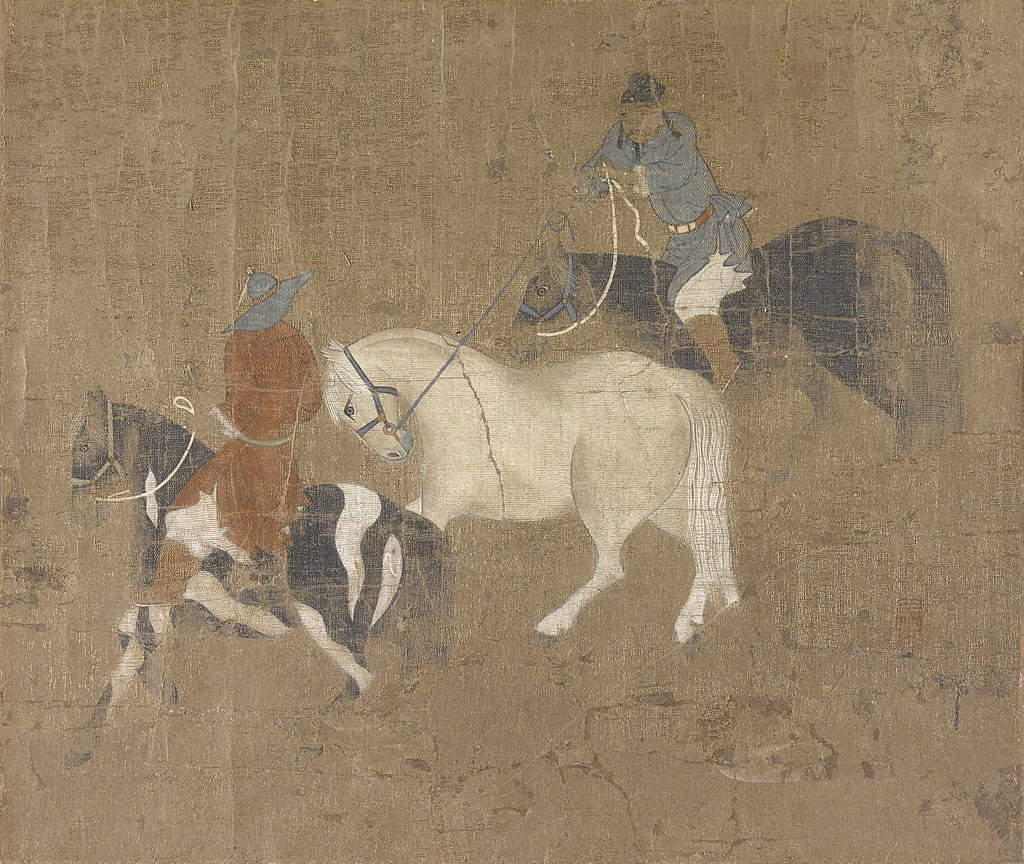 Zhao_Mengfu_-_Riders_Leading_a_White_Horse_-_55.209_-_Indianapolis_Museum_of_Art.jpg